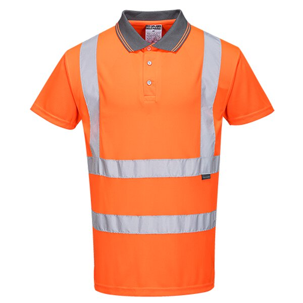 Kurzarm Warnschutz-Polo Shirt