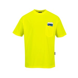 Portwest T-Shirt in Tagesleuchtfarbe S578
