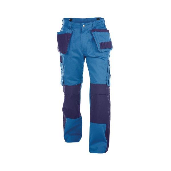 Dassy Bundhose Seattle mit Kniepolstertaschen 300gr Royalblau Minuslänge 56