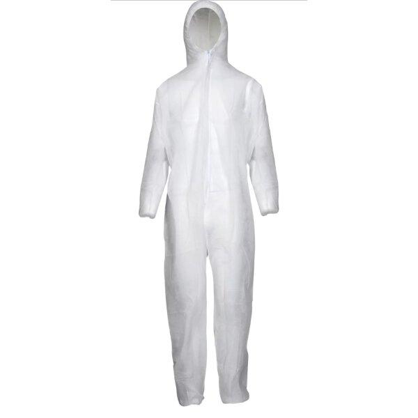 Asatex Einwegoverall PP Schmutzschutz 40 g/m² Weiß