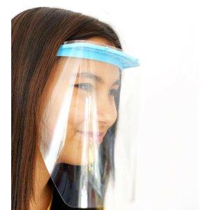 Spuckschutz / Gesichtsschutz Visier Blau
