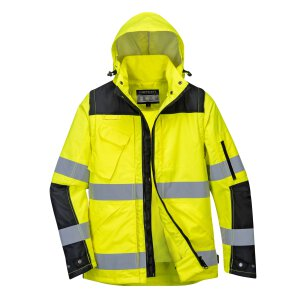 Portwest Warnschutz Jacke C469 3-in1