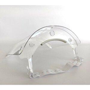 Spuckschutz / Gesichtsschutz Visier Weiß 3er Pack