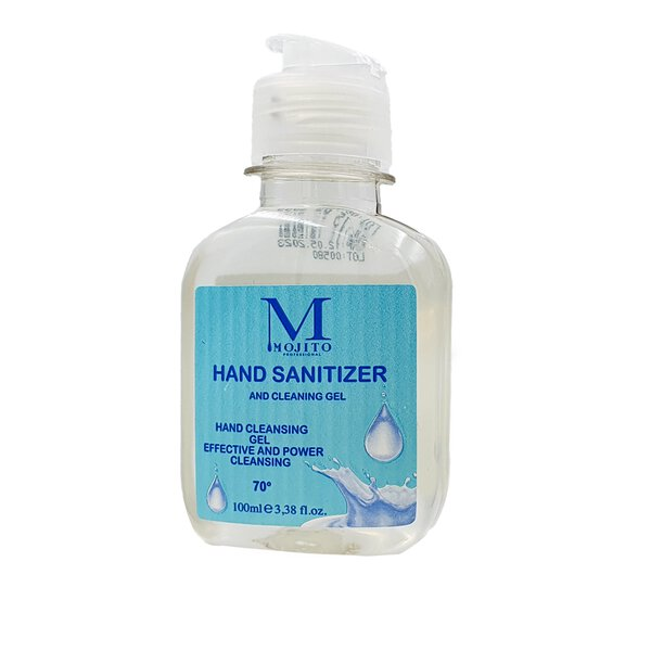 Mojito Händedesinfektionsgel 100 ml im 5er Pack