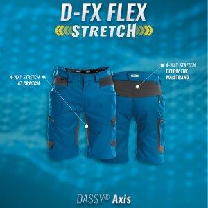 Dassy Arbeitsshort Axis Stretch
